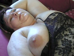 Big breasted Katrien is in need of her..