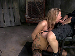 Nasty BDSM sessions with an alluring..