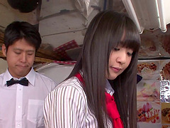 Tsubomi is a horny Japanese babe in..