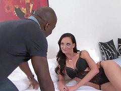 Cuckold licks pussy watches wife..