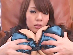It's time to give the busty Hitomi the..
