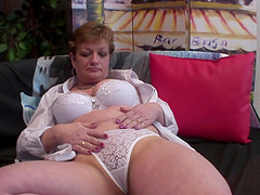 Naughty woman Dalena licks her amazing..