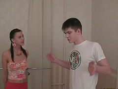 Cock Hungry Teen Action With Botik and Hottie Amalia!