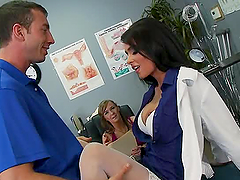 Slutty Dr. Jaymes Hardcore Fucking In The Hospital