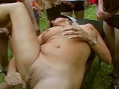 Extreme wild german amateur anal..