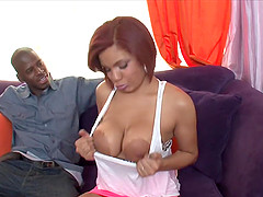 Stacked Savana Takes A Sticky Creampie