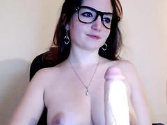 Cute Brunette Teen Hot Webcam Show
