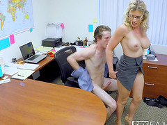 Cory Chase i an insatiable office..