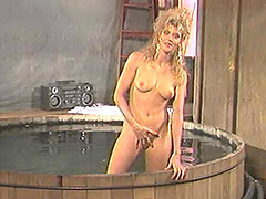 Retro amateur porn scene of blonde..