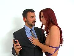 Redhead beauty Karlie Montana craves a..