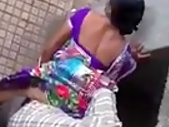 Indian clothed sex in public place
