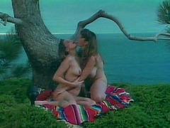 Captivating lesbian pornstar moaning..