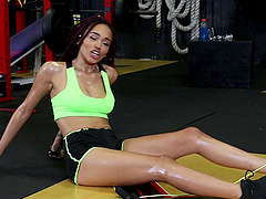 Julie Kay has a great time fucking a..