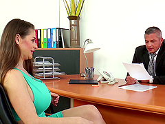 Luscious Cathy Heaven having a great..