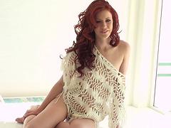 Elle Alexandra posing revealing her..
