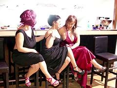 Horny mature ladies enjoy being frisky..