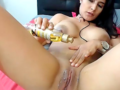 Turn On Toy So She Can Cream All Night..
