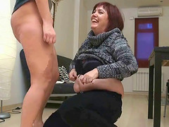Awesome threesome with Aitziber that..