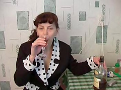 Drinking with Elizabeth to put a dick..