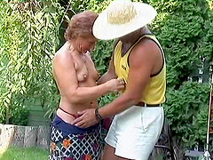 Emily attacked by her partner for a..