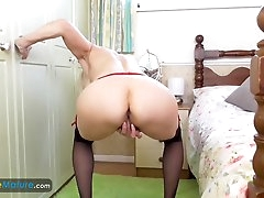 EuropeMaturE Lady Sextasy Solo Showoff