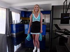 Chloe Scott is a curious cheerleader..