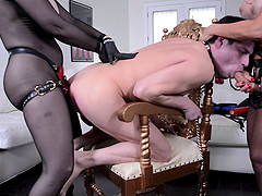 Nina Hartley joins an experienced..