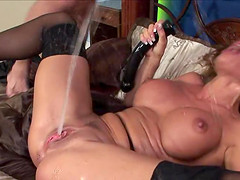 Sexy mature gets hardcore anal