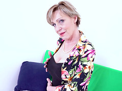 Hot and horny grandma from czech..
