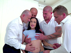 Nicole Love attacked by an army of..