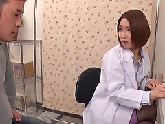 Japanese doctor seduced by a hunk for..