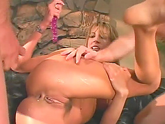 Two cocks are all insatiable Vicki..