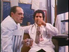 Classic porn film in a hospital