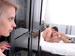 Herda's cunt licked well by a hunk..