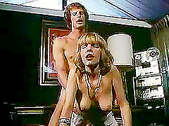 Retro style hardcore sex with lovely..