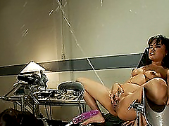 Hot Brunette Slut Fucked By Toys and..