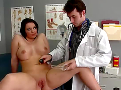 Emma Gets a Close Analysis With Her Gyno