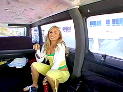 Busty Olivia's Bangbus gets full of..