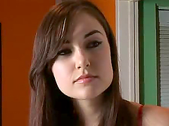 Sasha Grey Rides and Gets Deepthroated..