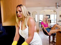 Amazing lesbian action with Jeni Juice..