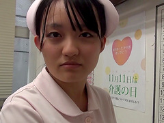 Japanese nurse attacked by a nasty..
