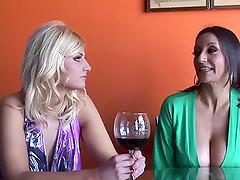 Rachel Love in a fantastic threesome..