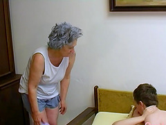 Amateur mature footage featuring old..