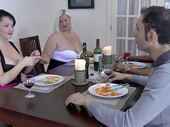 Famous busty mature blonde Lacey Starr..