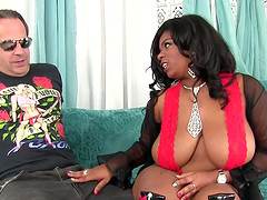 Big boobed black girl Ms Mirage loves..