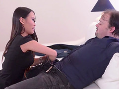Sexy Asian temp Pussykat goes in to..