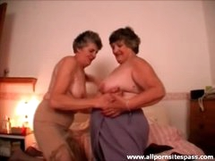 Mature lesbians bring out the toys for..