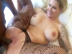 Horny big boobed MILF gets fucked by..