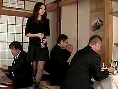 Slutty Aoi Natsumi getting fucked hard..