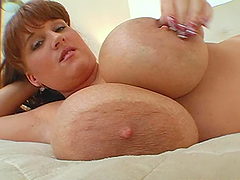 Brandy Dean Strikes With Her Big Tits..